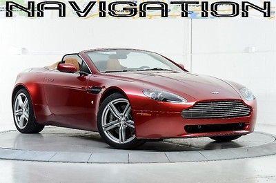Aston Martin : Vantage Base Convertible 2-Door 2009 vantage spyder nav htd sts sport shift