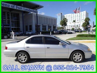 Acura : TL CASH ONLY!!, WE SHIP, WE EXPORT, LEATHER, SUNROOF 2001 acura tl 3.2 sedan sunroof leather silver black call shawn bressman