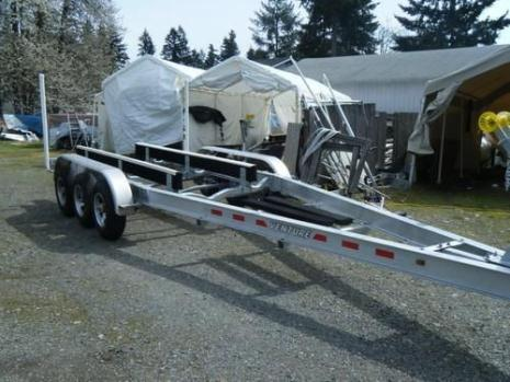 New 2015 Triple Axle Aluminum Boat Trailer 27
