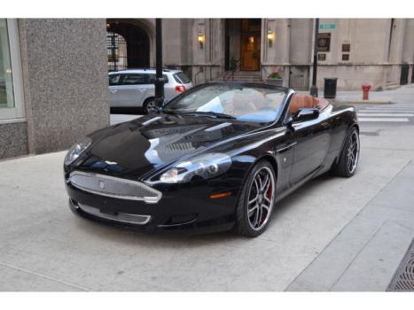 Aston Martin : DB9 2dr Volante Black with Saddle Only7k Mile call Roland Kantor 847-343-2721