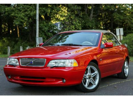 Volvo : C70 HP TURBO 2001 volvo c 70 1 owner convertible hpt high pressure turbo 12 k miles carfax