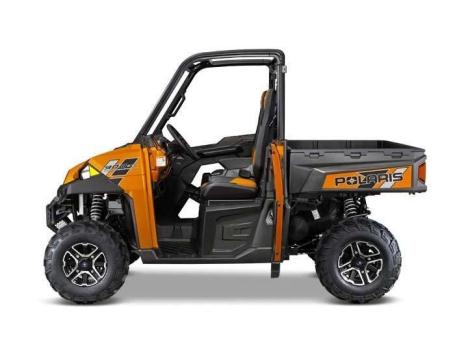 2014 Polaris Ranger XP 900 Deluxe Nuclear Sunset Orange LE