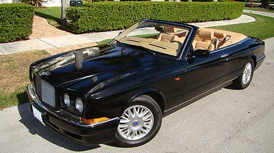 Bentley : Azure AZURE CABRIOLET 2001 bentley azure cabriolet edition well maintained records great color combo