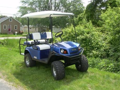 2014 GOLF CART + TRITON UG10 TRAILER FOR ONE PRICE!!