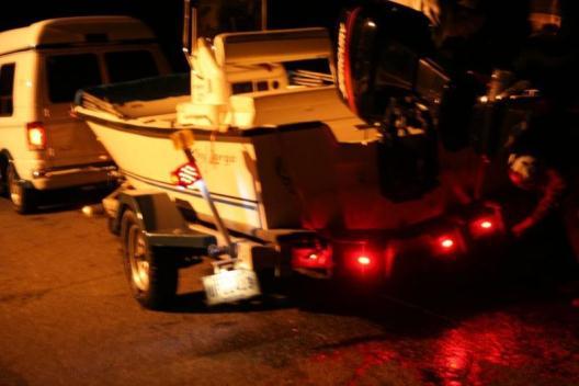 19 ft all Aluminum 5500 lb boat trailer 17