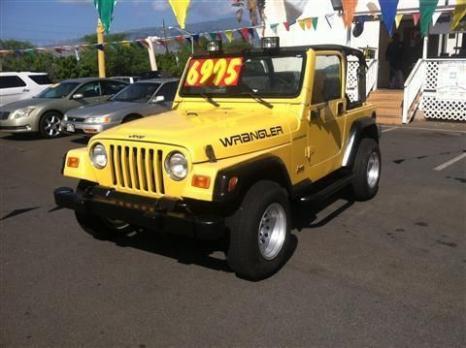 2000 Jeep Wrangler SUV SE Sport Utility 2D