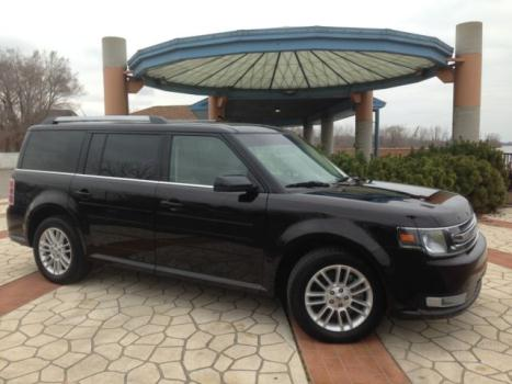 Ford : Flex 4dr SEL FWD 2014 ford flex sel no reserve headrest tvs low miles touch screen sync buy now