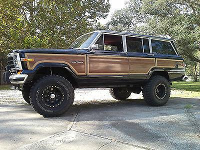 1989 jeep grand wagoneer cars for sale. Black Bedroom Furniture Sets. Home Design Ideas