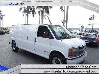 Chevrolet : Express 3500 Cargo Van 1 Owner Affordable Work Van! LOOK! 2002 chevrolet express 3500 cargo van 1 owner affordable work van look automat