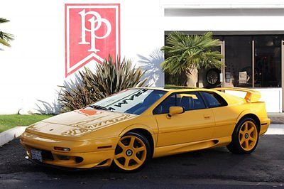 Lotus : Esprit V8 2001 lotus esprit v 8 bi turbo 3.5 l 5 speed saffron yellow low miles mint