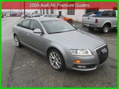 Audi : A6 3.0 Premium 2009 3.0 premium used 3 l v 6 24 v automatic awd sedan premium 1 owner clean carfax