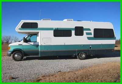 2006 Lazy Daze M-26 26.5' Class C RV Ford V10 Solar Panel Hitch Generator