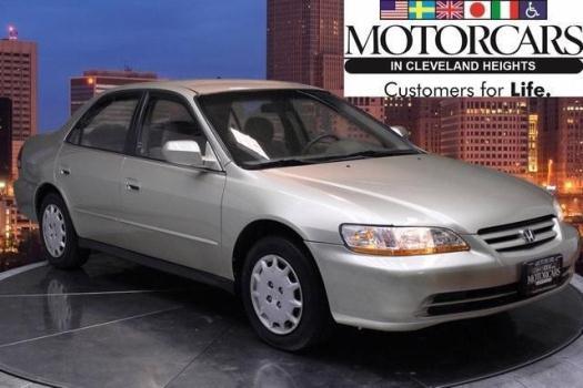 2001 Honda Accord 4D Sedan LX