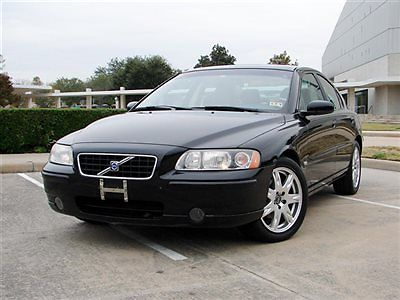 Volvo : S60 2.5T VOLVO S60 SEDAN,LEATHER SEATS,SUNROOF,WOOD TRIM,ONLY 74K MILES,RUNS GREAT!!