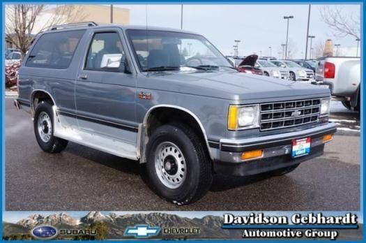 1989 Chevrolet S