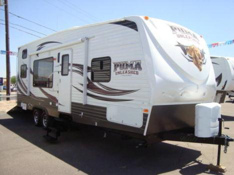 2014 Puma 27SBU Toy Hauler  Close Out $100 over COST  WOW !