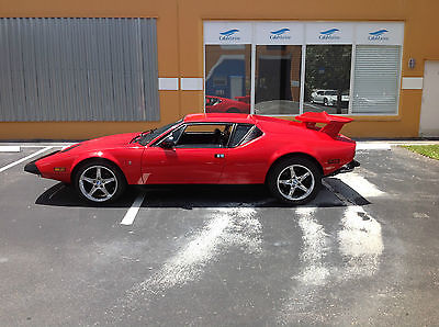 Other Makes : Pantera Coupe 1974 detomaso pantera l