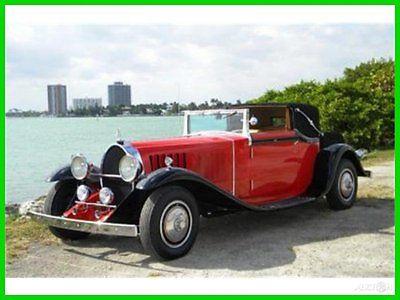 Bugatti : Other Classic 1929 Bugatti Type 41