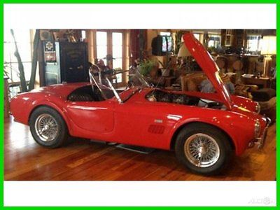 Shelby : Other Classic 1962 Shelby CSX2000