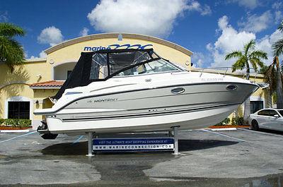 2012 Monterey 260 SCR Cruiser, MerCruiser 350 MAG DTS, 22 hours, Mint