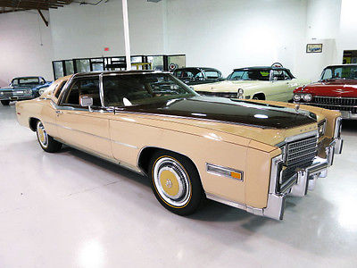 Cadillac : Eldorado Custom Biarritz Classic  1978 cadillac eldorado custom biarritz classic only 1200 orig miles like new