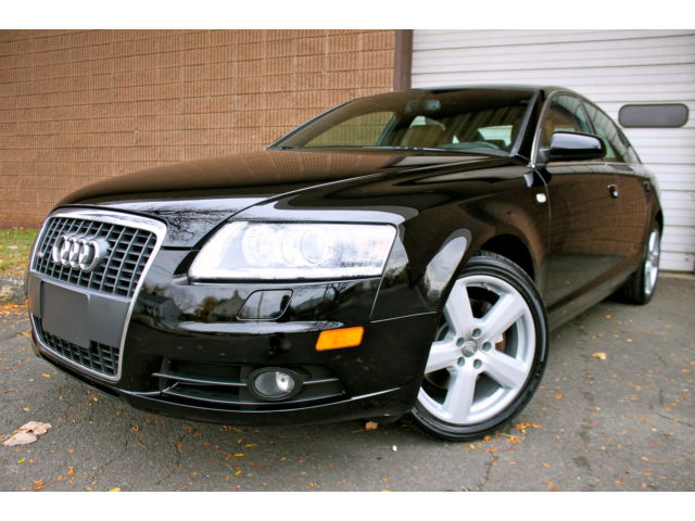Audi : A6 S Line 3.2L MAKE OFFER - 1 OWNER - CLEAN CAR FAX - S LINE EDITION - ALL WHEEL DRIVE - CLEAN