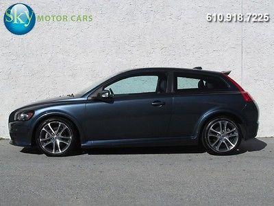 Volvo : C30 T5 Hatchback 2-Door DYNAUDIO Pkg Sport Styling Pkg Keyless Drive Heated Leather 18's 1-OWNER