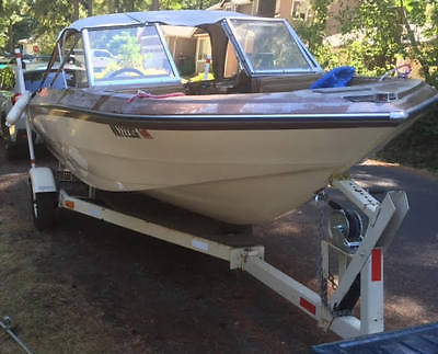 1977 Glastron SSV 188 Boat with Johnson 140hp Outboard