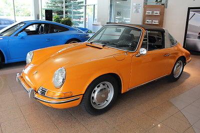 Porsche : 911 T Targa 1970 porsche 911 t targa sportomatic