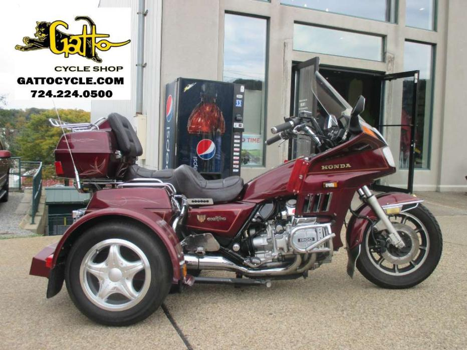 Honda Goldwing 1200 With Trike Kit Motorcycles for sale