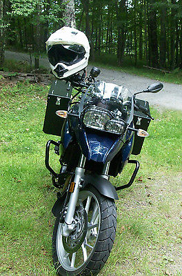 BMW : F-Series 2012 bmw f 650 gs biarritz blue liquid cooled twin cylinder abs ob computer
