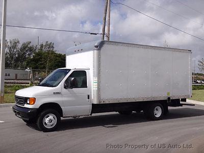 Ford : E-Series Van 16ft Box Truck 2006 ford e 350 cutaway 16 ft box truck 5.4 l v 8 florida van warranty gas