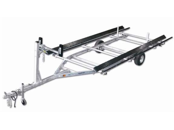 2015 Magic Tilt Pontoon Series - Single Axle