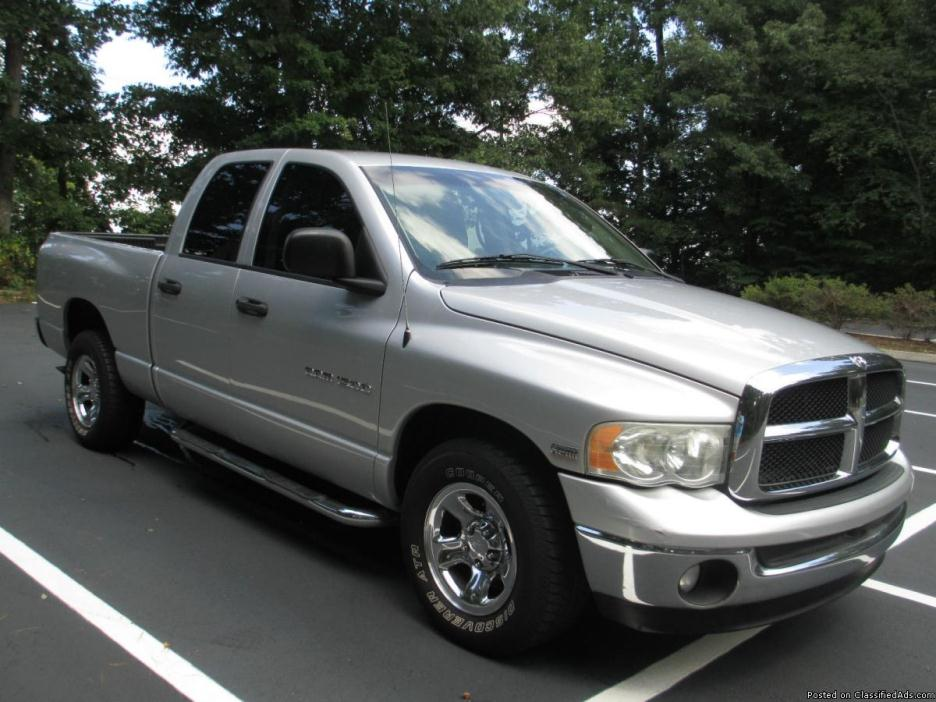 2003 Silver Dodge Ram