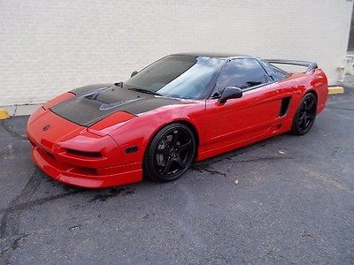 Acura : NSX Coupe 1992 acura nsx custom supercharged with only 49 k miles