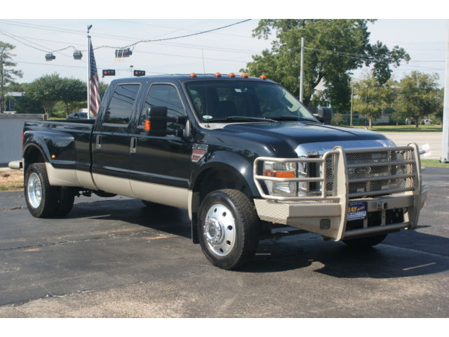 Ford : Other Pickups 4WD Crew Cab 4 x 4 6.4 liter lariat 6.4 liter turbo diesel dually automatic leather supercrew