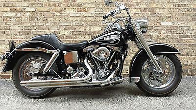 Harley-Davidson : Other Harley Davidson FLH-1200 Electra Glide Shovelhead