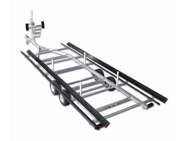 2014 Magic Tilt Galvanized Pontoon Series - Tandem Axle