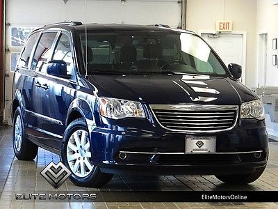 Chrysler : Town & Country Touring 13 chrysler town country touring back up cam rear dvd third row leather