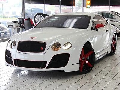 Bentley : Continental GT Prior Design Body Kit Red Leather 22 Lexani's Red Leather Mulliner Cross Stitch Prior Design Body Kit 22 Lexani's