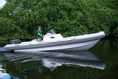ATOMIX 27' TWIN 150 MERCURY FOURSTROKES 2015 MODEL INFLATABLE BOAT LIKE ZODIAC