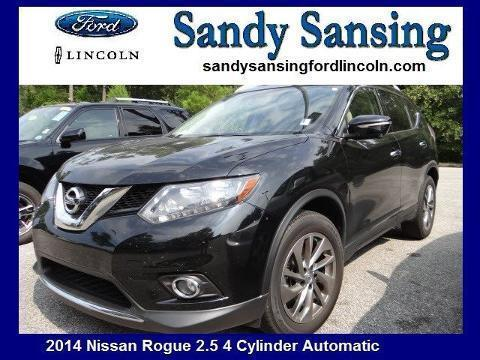 Sandy Sansing Used Cars >> Nissan Rogue Alabama Cars for sale