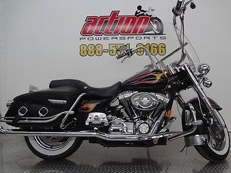 Harley-Davidson : Touring 2006 harley davidson road king classic touring apes leather bags financing