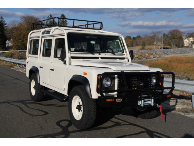 Land Rover : Other 5dr Wagon 1993 land rover nas defender 110 40 000 refresh one of the 500 rare