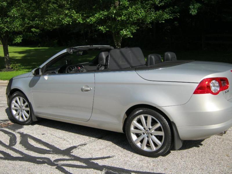 2009 VW EOS CONVERTIBLE