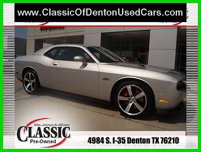 Dodge : Challenger SRT8 392 2012 srt 8 392 used 6.4 l v 8 16 v manual rwd coupe premium