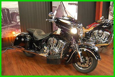 Indian : Chieftain® 2014 indian chieftain thunder black used