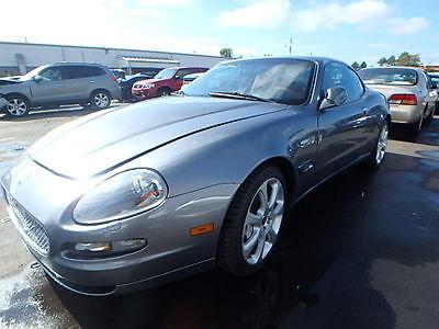 Maserati : Coupe CAMBIOCORSA 2005 maserati coupe cambiocorsa m 128 23 k project car or parts not gt gran sport