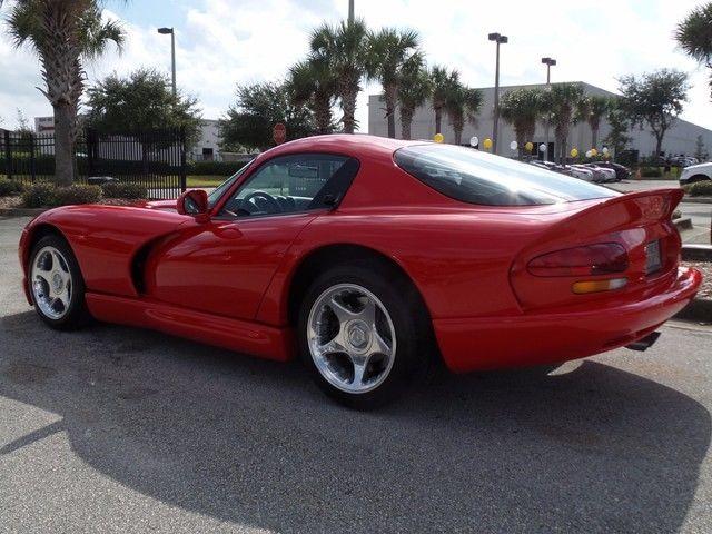 Dodge : Viper GTS 1997 dodge viper gts lowest mileage in the world 629 miles