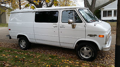 Chevrolet : G20 Van EXCELLENT Condition NO RUST Low Miles Daily Driver Perfect